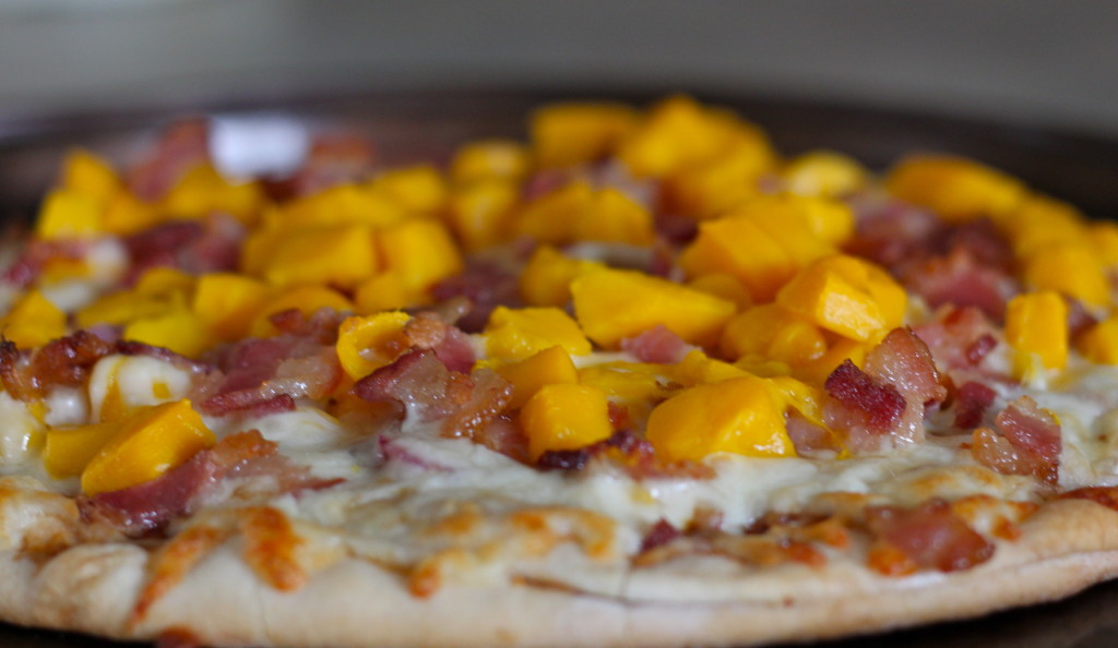 Mangover Bacon BBQ Pizza