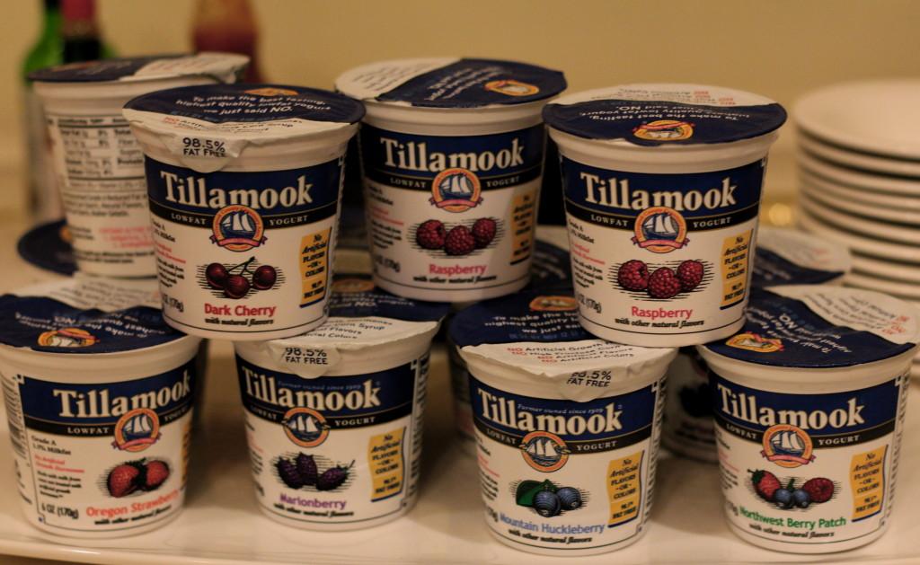 Tillamook Yogurts