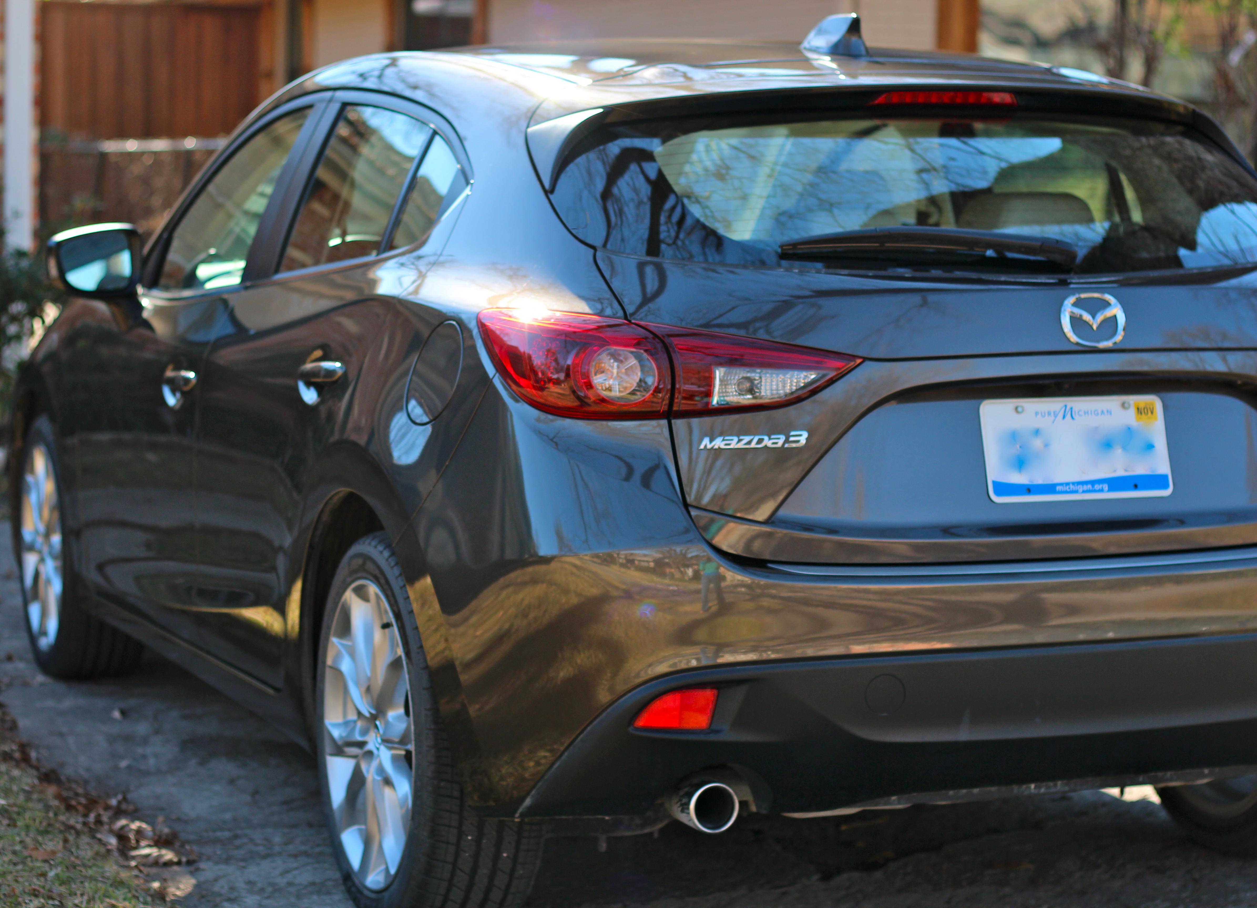 2014 Mazda 3 Touring Back