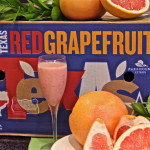 Smoothie in Red Grapefruit