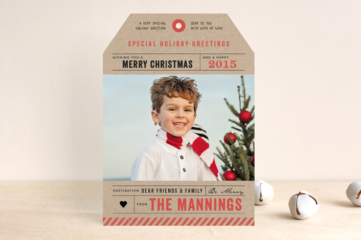 Minted Holiday Tags