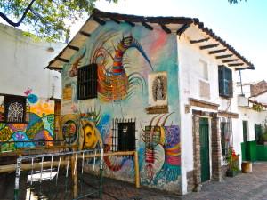 Colorful Bogotá Street Art