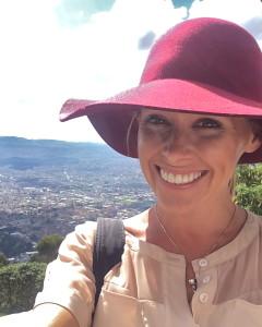 Jayne Overlooking Bogotá