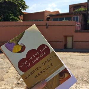 Love In the Time of Cholera at the home of the author in Cartagena, Colombia