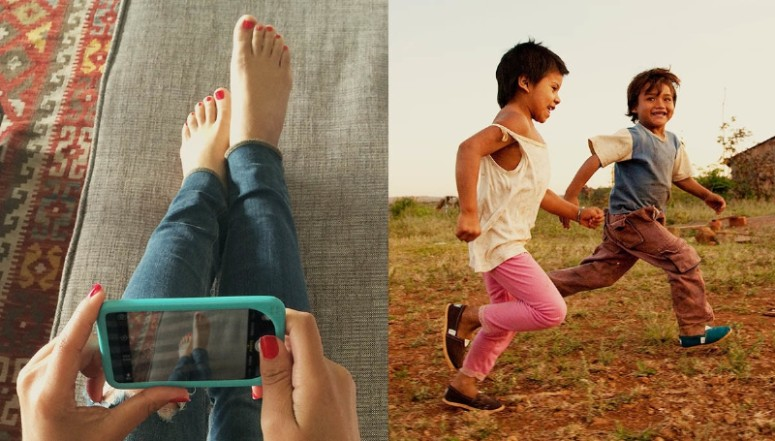 TOMS Launches One Day Without Shoes Campaign (PRNewsFoto/TOMS)