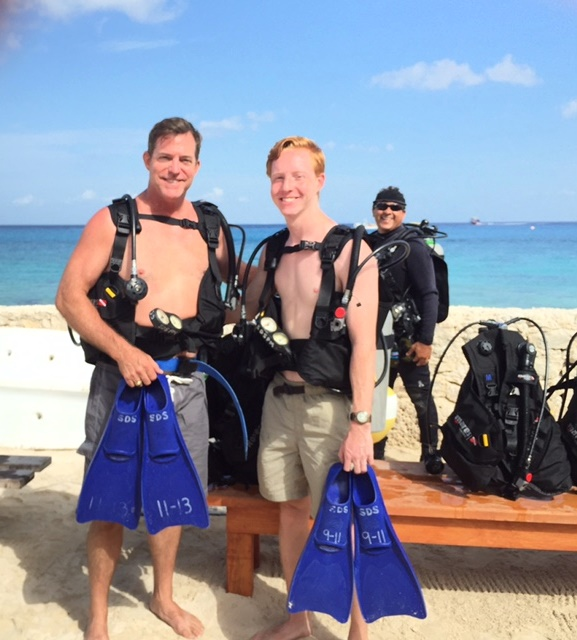Cruise Jay and Jack Scuba 2015