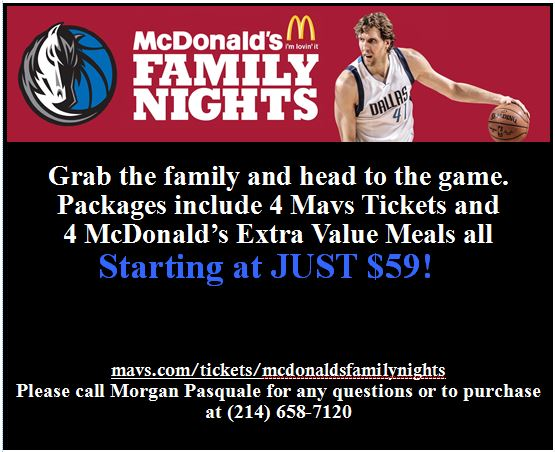 Mavs Family Night
