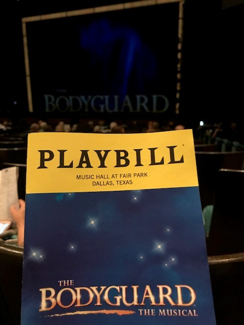 The Bodyguard Playbill